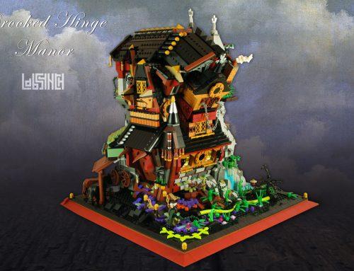Crooked Hinge Manor (LEGO MOC)