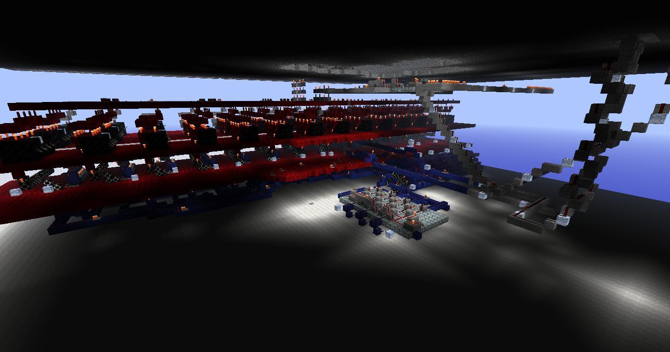 Minecraft-4bit-computer