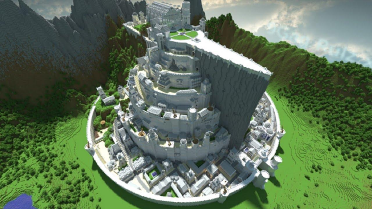 Minecraft-minas-tirith
