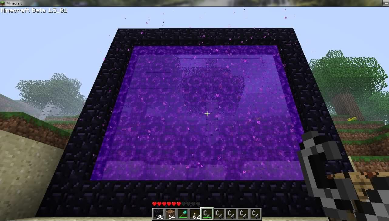 Minecraft-portal
